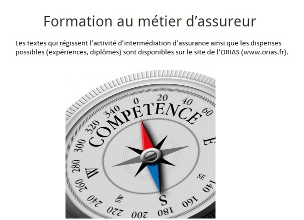 formations a distance assureur