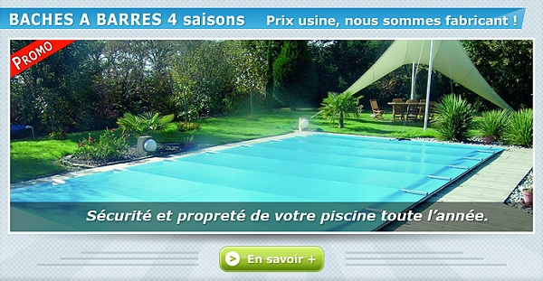 bache piscine securite