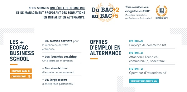 licence communication rennes