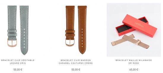 bracelets montres milanais