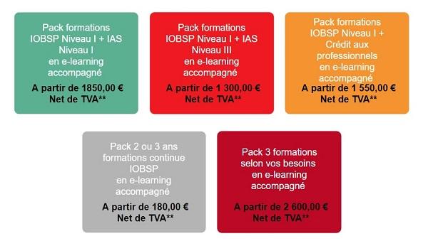 tarif formation ifp