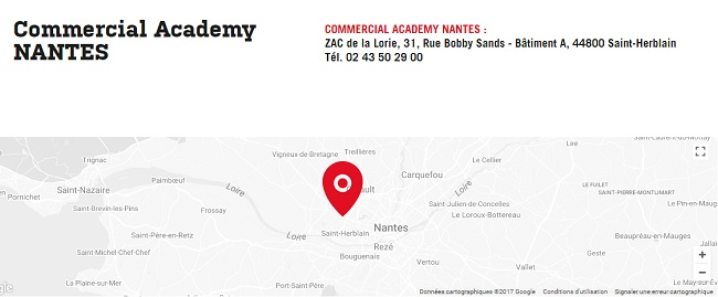 formation courte commercial nantes